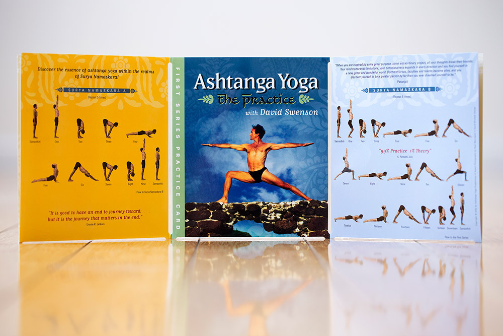 ashtanga yoga practice cards the primary series