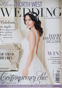 As seen in Your North West Wedding Magazine
