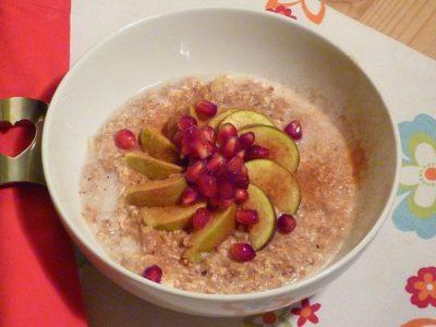 Cashew Porridge recipe by nutritionist Sarah Kekus