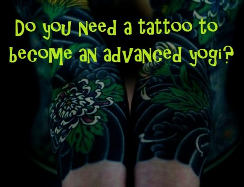 Will a tattoo help your yoga?