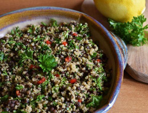 Puy Lentil & Quinoa Tabbouleh
