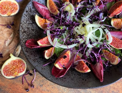 Black Fig & Chicory Salad