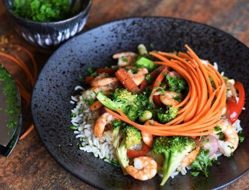 Broccoli & Prawn Stir-Fry