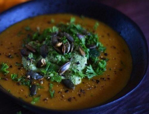 Carrot & White Bean Soup