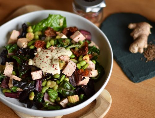Rainbow Chard & Tofu Bowl